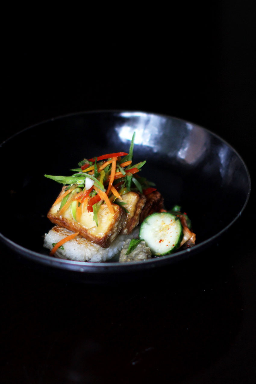 Crispy Tofu with Asian Vegetables